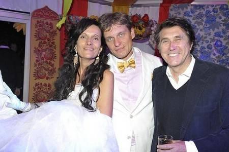 Тиньков с женой