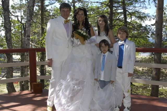 Семья Тинькова