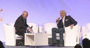 Олег Тиньков дает интервью
