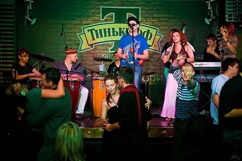 Концерт в баре Тинькофф