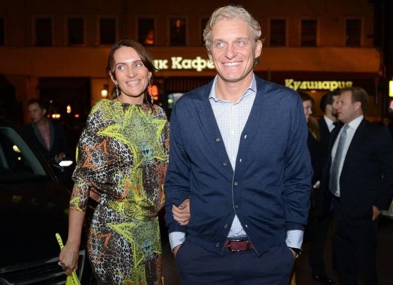 Рина Восман с мужем