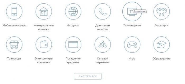 Сервисы Тинькофф Банка