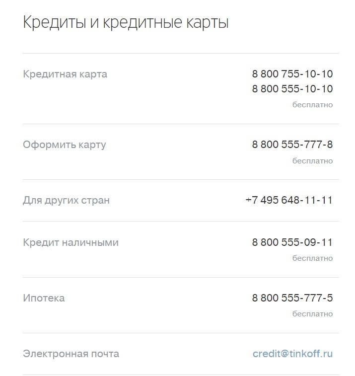Номера телефонов и E-mail