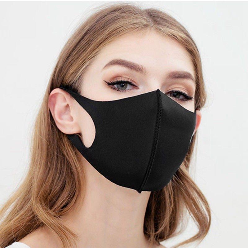 Угольная маска
