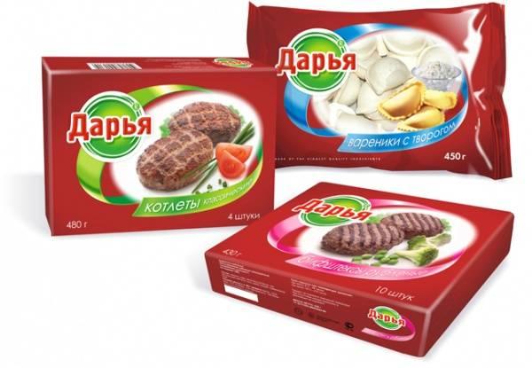 Замороженные продукты Дарья