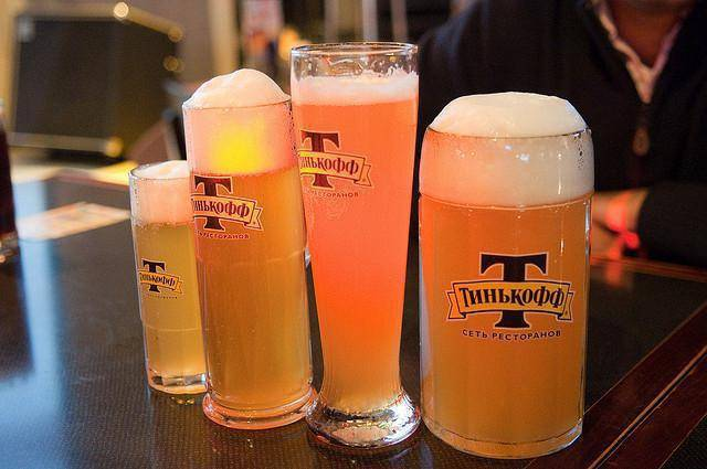 Частная пивоварня Тинькофф